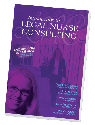 Introduction to Legal Nurse Consulting Book