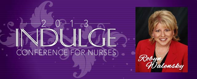 Robyn Walensky Speaking at the Indulge Conference for Legal Nurse Consultants